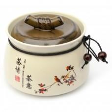 Баночка для чая керамическая 500 мл