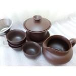 Набор для церемонии чаепития из глины - 8 предметов