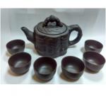 Набор Глиняный Чайник 400 мл и 6 пиал по 25 мл
