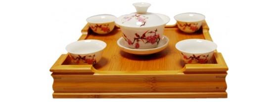 Подарочный чайный сервиз из фарфора!