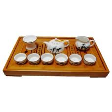 Набор для чаепития из фарфора Бамбук