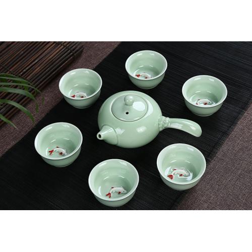 Набор для чаепития из фарфора Рыбки