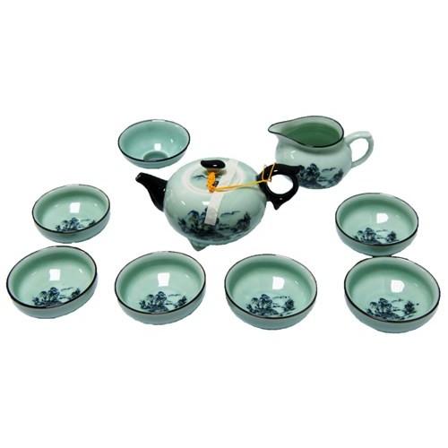 Набор для чаепития из фарфора Горы