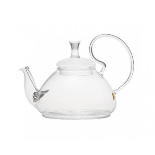 Заварочный стеклянный чайник с фильтром на 600 и 800 мл