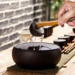 Чаша для мытья посуды чайной церемонии 925 мл. Глина!