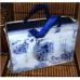 Набор для чаепития из фарфора в сумочке-7