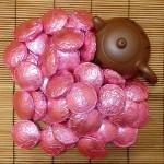 Шу пуэр с розой - 10 штук в упаковке