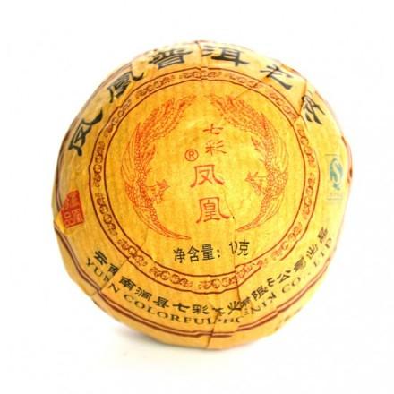 Шу пуэр Bulang - 100 грамм - 2009 год