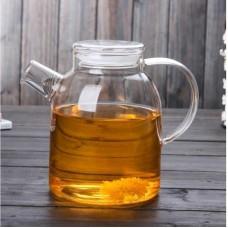Заварочный стеклянный чайник со стеклянной крышкой 1600 мл