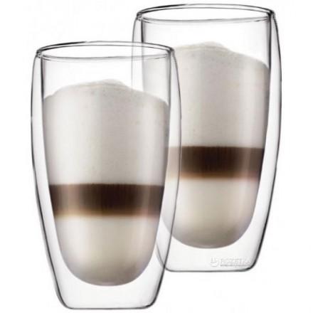 Стеклянные стаканы с двойными стенками Bodum Pavina 450 мл