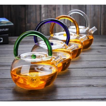 Заварочный стеклянный чайник из жаропрочного стекла!
