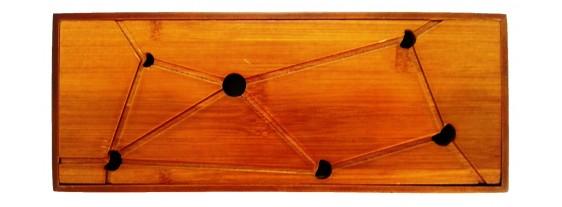 Чайный столик - Чабань Кроха! 30х12х2,5 см
