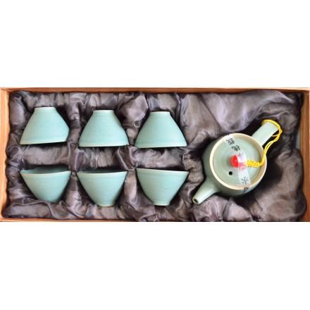 Набор для чаепития из фарфора Треугольник!