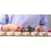 Пиалы для чаепитий из фарфора - 4 штуки в наборе-1