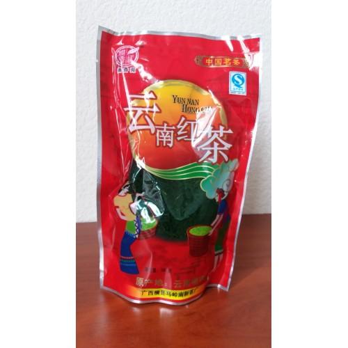 Юннаньский высокогорный черный чай - 100 грамм