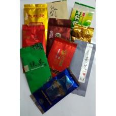 Дегустационный набор черного и зеленого чая 10 пакетов по 5 грамм!