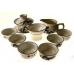 Набор для чаепития из фарфора Бамбук-1