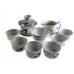 Набор для чаепития из фарфора Бамбук-3