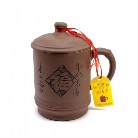 Чашка глиняная 500 мл!