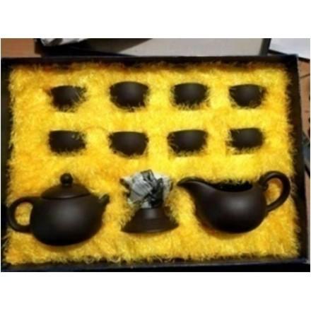 Подарочный чайный набор из глины