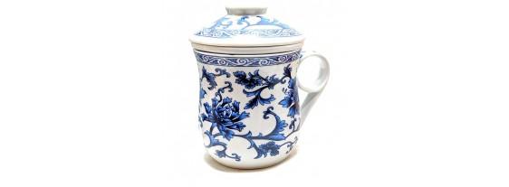 Керамическая Чашка с ситом