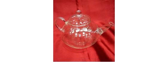 Чайник с ситом стекло