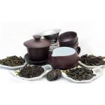 Набор чайный из глины и дегустационный набор чая