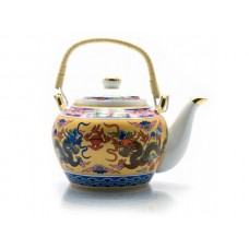 Чайник заварочный фарфор - Драконы