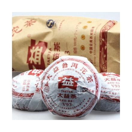 """Шу Пуэр Мэнхай Да И """"Точа V93"""" 2010 года"""